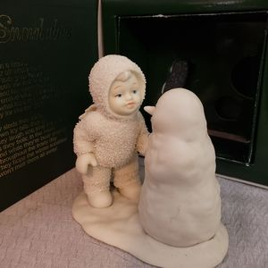 "DEPARTMENT 56 Snowbaby ""Why Don't you talk to Me"""
